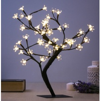 Árvore Decorativa com Flores (48 LED)