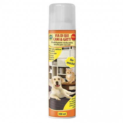 Repelente de cães e gatos em spray p/ interior (300 ml)