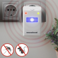 Repelente de insectos e ratos com led