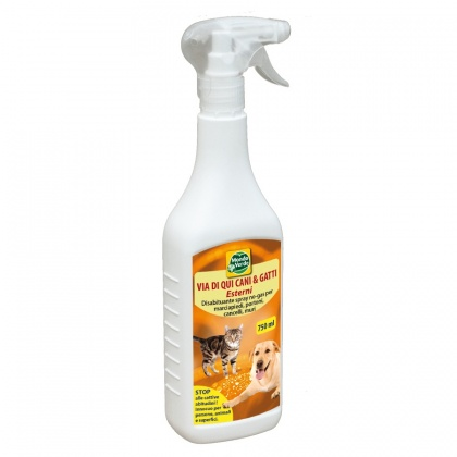 Repelente Cães e Gatos Exterior 750 ml